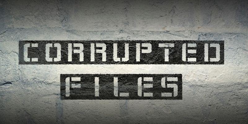 corrupte bestanden maken